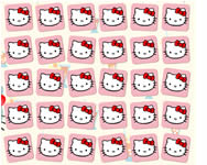 Hello Kitty memory game mem�ria j�t�kok