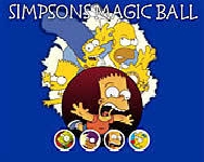 Simpsons magic ball memória játékok