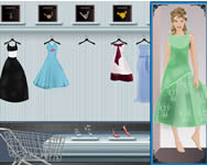 Shopn dress make up matching game online játék